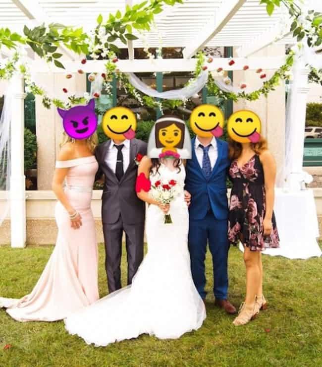 hihetetlen esküvői fotó